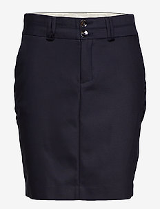 Blake Night Skirt - midi skirts - navy
