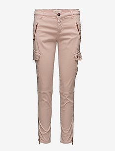 Gilles Cargo - trousers with skinny legs - rose