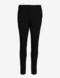 Beate Comfort Pant - straight leg trousers - black