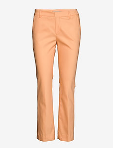 Ivana Night Kick Sustainable - straight leg trousers - peach cobbler