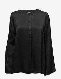 Savour Sport Blouse - bluzki z długimi rękawami - black
