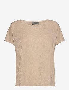 Kay Tee - t-shirts - gold