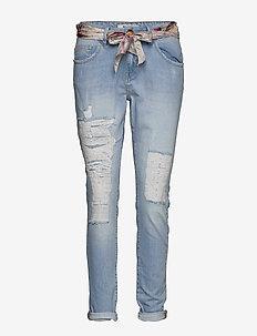 Bradford Bleach Jeans - dżinsy chłopaka - bleached blue