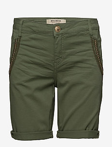 Etta Shine Shorts - ARMY