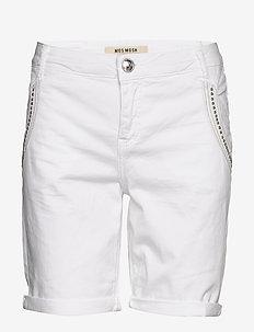 Etta Shine Shorts - WHITE