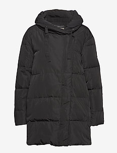 Leona Down Jacket - padded jackets - black