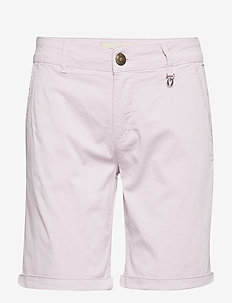 Perry Chino Shorts - casual shorts - lavender