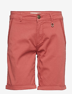 Perry Chino Shorts - casual shorts - marsala