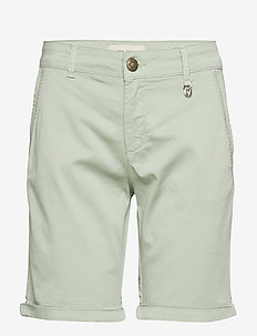 Perry Chino Shorts - casual shorts - sage green