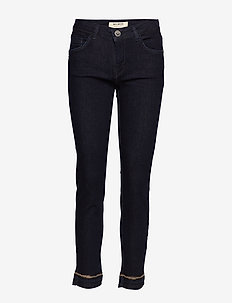 Sumner Glam Jeans - DARK BLUE DENIM