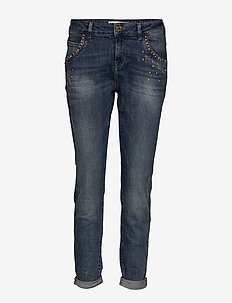 Jaime Stone Jeans - straight jeans - light blue denim