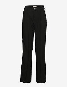 Hannah Pearson Pant - wide leg trousers - black
