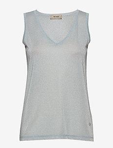 Casio Top SL - sleeveless tops - celestial blue