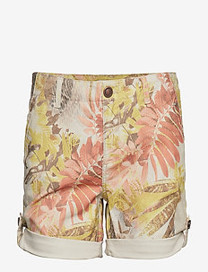 Freya Cape Shorts - CASHEW FLOWER