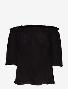 Ashley Blouse - BLACK
