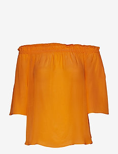 Ashley Blouse - SUN ORANGE