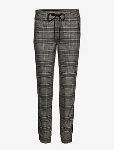 Levon Milano Pant - BLACK CHECK