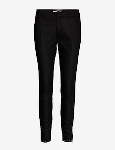 Abbey Troks Tape Pant Sust. - slim fit-byxor - black