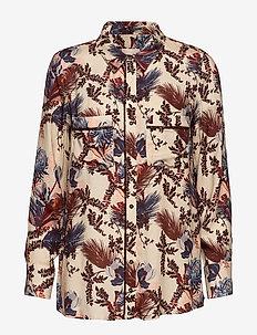 Kelly Beaux Shirt - WILD PLUM FLOWER