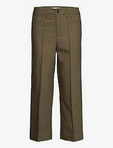 Como Night Pant Sustainable - bukser med brede ben - grape leaf