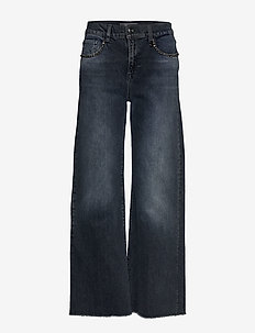 Dara Jeans - vide jeans - blue black denim