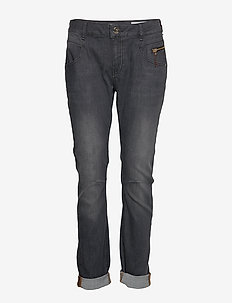 Nelly Favourite Jeans - straight jeans - grey denim