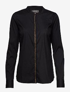 Maggie Golden Shirt - BLACK