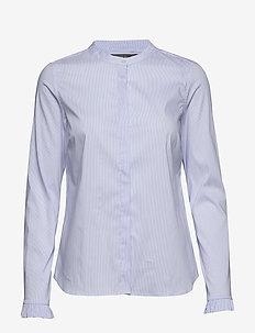 Mattie Check Shirt - LIGHT BLUE CHECK