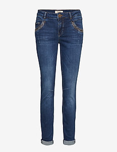 Naomi Trok Jeans - BLUE DENIM
