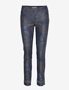Sumner Cool Printed Pant - straight jeans - mood indigo