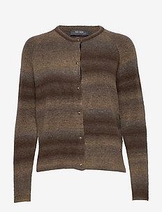 Vea Knit Cardigan - BURRO CAMEL