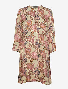 Brisa Weave Dress - VINTAGE ROSE FLOWER
