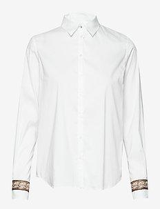 Martina Deco Shirt - WHITE
