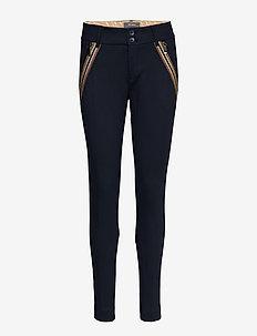 Milton Comfort Pant - slim fit broeken - salute navy