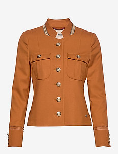 Selby Twiggy Jacket - blazers - roasted pecan