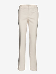 Farrah Twiggy Pant - bukser med lige ben - ecru