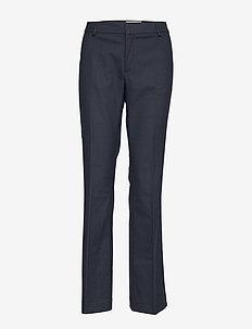Farrah Twiggy Pant - bukser med lige ben - salute navy