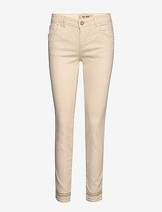 Sumner Cream Jeans - straight jeans - ecru