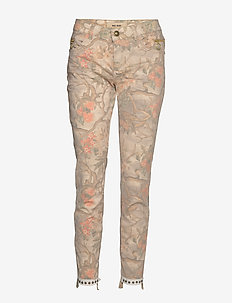 Sumner Rio Pant - straight leg trousers - rose flower