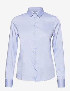 Martina Sustainable Shirt - overhemden met lange mouwen - light blue