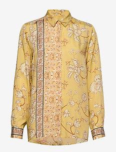 Marietta Sunny Shirt - bluzki dlugim rekawem - jojoba