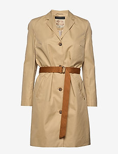 Royce Parca Jacket - trenchcoats - safari