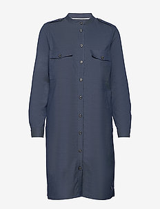 Annie Marly Dress - shirt dresses - dark blue