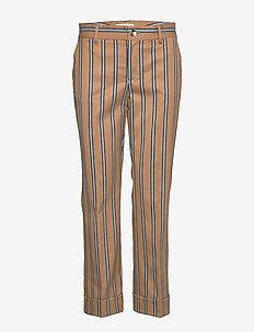 Bella Zeth Pant - bukser med lige ben - bran