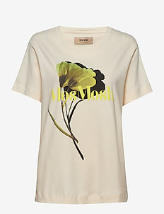 Tulipa Blouse - printed t-shirts - ecru