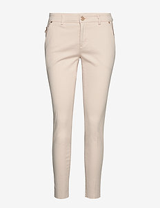 Blake Rich Jeans - trousers with skinny legs - ecru