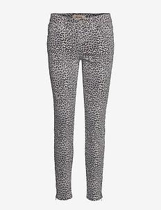 Victoria Leopard Jeans - slim jeans - blue