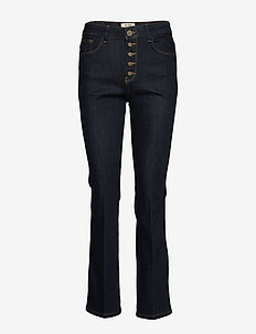 Athena Kick Jeans - flared jeans - dark blue