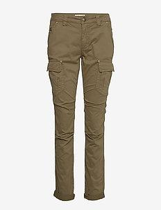 Cheryl Cargo Reunion Pant - bukser med lige ben - army