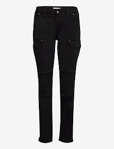 Cheryl Cargo Reunion Pant - broeken med straight ben - black